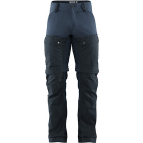 Fjällräven Keb Pantalon guêtre Homme, dark navy-uncle blue
